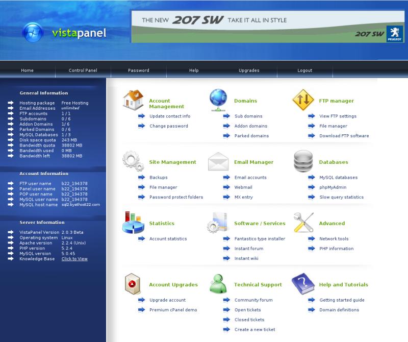 Бесплатный хостинг php - mysql создание веб сайтов г.щелково